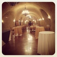Caves at Meritage Resort and Spa in Napa!