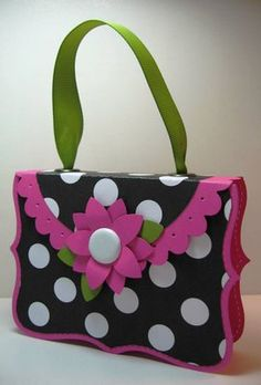 Top Note Paper Purse tutorial
