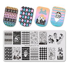 Beauty & Health Nails Art & Tools Spirited 10pcs Stainless Steel Silicone Nail Art Stamper Scraper With Cap Stamping Template Image Plates Nail Stamp Plate Tool