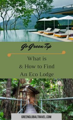 What is an Eco Lodge? The Top 20 Eco Resorts & Eco Hotels in the World. Check out our ultimate guide to eco friendly accommodations. Places Around The World, Travel Around The World, Around The Worlds, Unique Hotels, Beautiful Hotels, Slow Travel, Time Travel, Tourism Day, Sustainable Tourism
