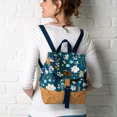 Make your own backpack! We'll show you how with our City Backpack sewing pattern – find out how it's done in issue 43 of Simply Sewing magazine.