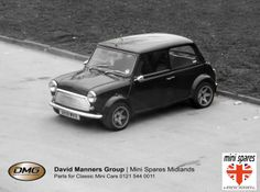 Classic Mini at the David Manners Group View from the window May 2014 http://www.jagspares.co.uk/Mini/company.asp