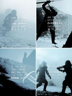 … and he who clasps it shall be Azor Ahai come again, and the darkness shall flee before him.