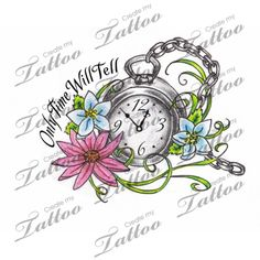 Looking for the perfect tattoo design? Here at Create My Tattoo, we specialize in giving you the very best tattoo ideas and designs for men and women. We host over unique designs made by our artists over the last 8 y Time Tattoos, Word Tattoos, Tattoo Sayings, Tatoos, Create My Tattoo, Name Tattoo Designs, Sweet Tattoos, Custom Tattoo, Flower Tattoos