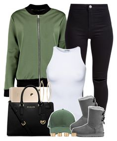 1c82e03f86c3 Late Night Set. ✨ by livelifefreelyy ❤ liked on Polyvore featuring New  Look