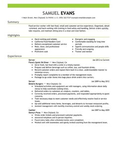 skills in a resume for retail