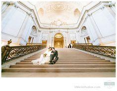 San Francisco City Hall Wedding portrait - UMeUsStudios.com