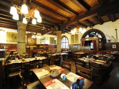 Restaurant Zeughauskeller - Visiting Zurich in August? Pack your dancing shoes! http://www.augustuscollection.com/visiting-zurich-august-pack-dancing-shoes/