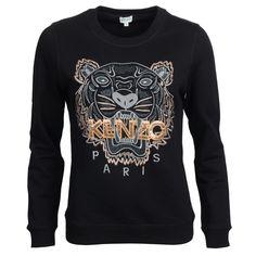 Kenzo sweatshirt med tiger broderi 1500kr