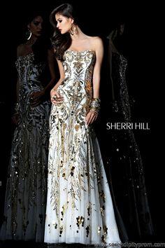 Serendipity Prom -Sherri Hill 21077 prom dress - Sherri Hill 2013 prom dresses - sherrihill21077