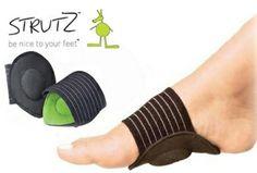 Schokdempende voetsteunen - Weg met pijnlijke voeten met Strutz, t.w.v. €29,95 nu €12,95! https://www.vouchervandaag.nl/voucher-korting-aanbieding-strutz-tegen-pijnlijke-voeten-sporten-ondersteuning-voordeel