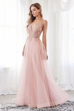 Long Sweetheart Glitter Dress with Slit by Cinderella Divine – ABC Fashion Blush Prom Dress, Long Tulle Dress, Champagne Prom Dresses, Pastel Prom Dress, Lilac Prom Dresses, Bridesmaid Dresses, Wedding Dresses, Ball Dresses, Ball Gowns