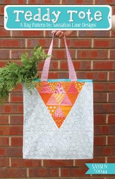 Teddy Tote Pattern Download