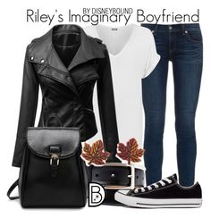 """Riley's Imaginary Boyfriend"" by leslieakay ❤ liked on Polyvore featuring rag & bone, WearAll, Converse, Natures Jewelry, women's clothing, women, female, woman, misses and juniors"
