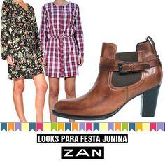 Ainda dá tempo de passar em nossa loja e garantir o look para se despedir das festas juninas! #VaideZan