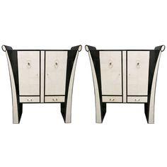 1stdibs | Beautiful Art Deco Pair of Sideboards
