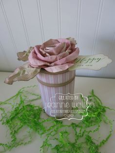 #ctmh #paperflower #createwithheart@ctmh.com