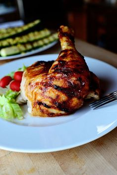 Pioneer Woman - Roasted Chicken - really easy, delicious roasted chicken. Had chicken for days!