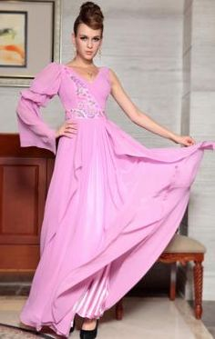 Amazing Long Pink In Stock Evening Prom Dress (LFYAK0346) http://www.marieprom.co.uk/prom-dresses-uk