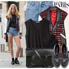 """1141. Street Style: Paris"" by amber-nicki-rose on Polyvore"