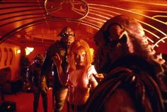Milla Jovovich and Clifton Lloyd Bryan in The Fifth Element (1997)