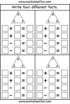 math worksheet : fact family i m going to laminate the template provided for both  : Fact Family Worksheets Multiplication