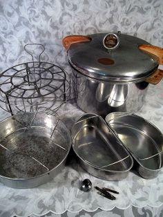 Sold Vintage National Presto Pressure Cooker Fry Master