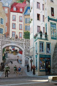 On The Wall - Quebec City, Canada