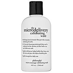 The microdelievery exfoliating wash by Philosophy - It makes my skin SO smooth