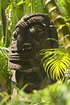 Polynesian Tiki --.Sofitel Tahiti Maeva Beach Resort
