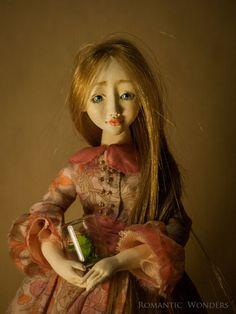 Spring Gardener. Rose. Handmade BJD OOAK doll. by RomanticWonders
