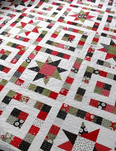 Starry Eyed QuiltTutorial on the Moda Bake Shop. http://www.modabakeshop.com