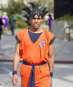 Dragon Ball Z Goku Comic Con 2013 #SDCC  sc 1 st  Pinterest & GTH Boys Muscle Shirt Kids Child Fancy Dress Party Halloween Costume ...