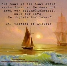 St. Therese of Lisieux Quote
