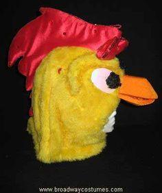 Animal Costume to Rent: Yellow Chicken