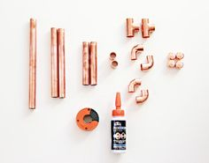 You can now buy this kit to make it at home- no need to go to the store for materials- order a kit at Darby Smart! More copper pipe projects: Copper Pipe & Concrete Cake Stand Copper Pipe & Marble Plant Stand/Sidetable I kind of love it when I get to make a DIY that …