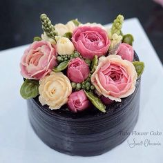 "24 Likes, 5 Comments - Tata Buttercream Flower Cake (@tataflowercake) on Instagram: ""Real Peony …"""