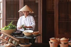 Local lunch preparation at Six Senses Con Dao, Vietnam http://www.sixsenses.com/resorts/con-dao/dining