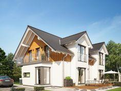 Unser CELEBRATION 192 V2. #Haus #Fertighaus #Hausbau #Design #Architektur #Zweifamilienhaus #House #BienZenker