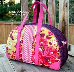 Sew and Sell: The Betty Bowler Bag by Swoon + DIY Sewing Table Extension Video Tutorial by Rose Lewis #sewing