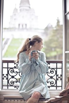 Morning on a Paris balcony is like Tulip Perfume's Mandarin Peony...The Refined Romantic