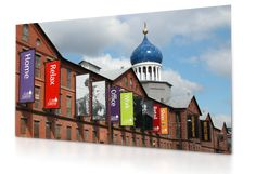 Banners @ Colt Gateway in Hartford, CT (historic colt factory)