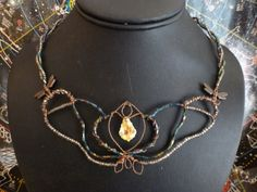 *on sale* OOAK necklace by Metallic Muse Creations.