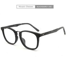 45ae71f8aa3 Men Women Myopia glasses Wooden Frame with Clear Lenses Brand Design  Eyeglass