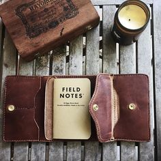 It already sold but here is the interior. Gonna change a few things around but here's the gist! How many card pockets do all you ladies need? #VSCOcam #loyalstricklin #leather #leatherwallet #womensstyle #womenswallet