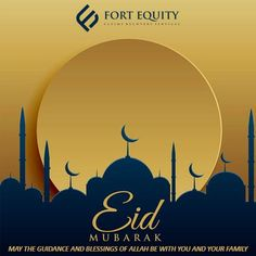 May the guidance and blessings of Allah be with you and your family. Eid Mubarak 2018, Eid Mubarak Quotes, Eid Mubarak Images, Eid Mubarak Wishes, Eid Mubarak Greetings, Happy Eid Mubarak, What Is Eid, Eid Background, Eid Card Designs