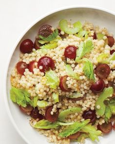 Grape, Celery, and Couscous Salad Recipe