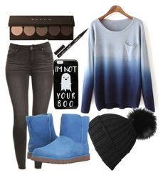 """""""Untitled #67"""" by xcastielx on Polyvore featuring Black, ASOS, UGG and Smith & Cult"""