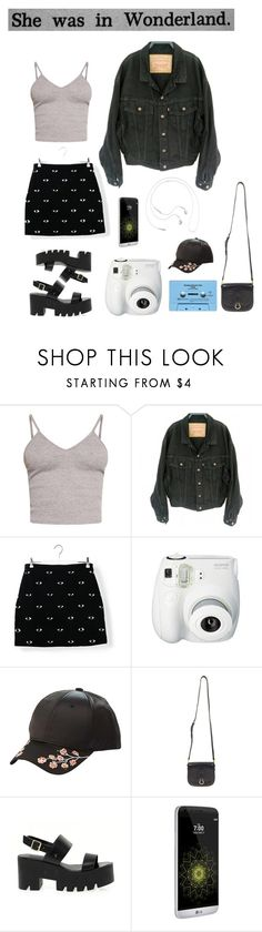 """Indie Days"" by owlenstar on Polyvore featuring BasicGrey, Levi's, Kenzo, Fujifilm, Charlotte Russe, CASSETTE, Louis Vuitton, Windsor Smith, AT&T and Samsung"