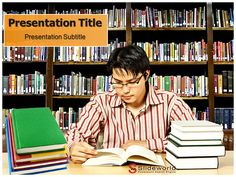 #Education #PowerPoint #Templates  http://www.slideworld.com/ppt_templates/Download-powerpoint-templates.aspx/Library-Memorial-8397